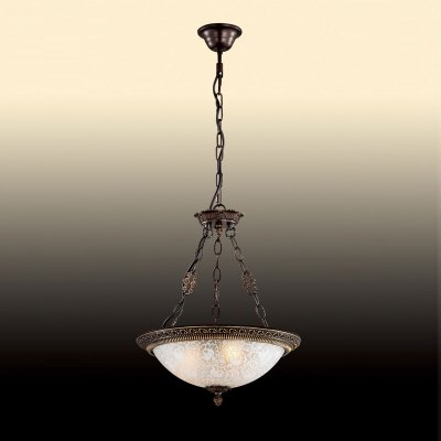 Люстра Odeon light 2587/3Подвесные<br>Компания «Светодом» предлагает широкий ассортимент люстр от известных производителей. Представленные в нашем каталоге товары выполнены из современных материалов и обладают отличным качеством. Благодаря широкому ассортименту Вы сможете найти у нас люстру под любой интерьер. Мы предлагаем как классические варианты, так и современные модели, отличающиеся лаконичностью и простотой форм. <br>Стильная люстра Odeon light 2587/3  станет украшением любого дома. Эта модель от известного производителя не оставит равнодушным ценителей красивых и оригинальных предметов интерьера. Люстра Odeon light 2587/3  обеспечит равномерное распределение света по всей комнате. При выборе обратите внимание на характеристики, позволяющие приобрести наиболее подходящую модель. <br>Купить понравившуюся люстру по доступной цене Вы можете в интернет-магазине «Светодом».<br><br>Установка на натяжной потолок: Да<br>S освещ. до, м2: 12<br>Крепление: Крюк<br>Тип цоколя: E27<br>Количество ламп: 3<br>MAX мощность ламп, Вт: 60<br>Диаметр, мм мм: 320<br>Высота, мм: 470<br>Оттенок (цвет): белый<br>Цвет арматуры: бронзовый