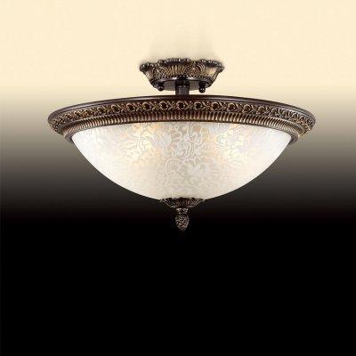 Люстра Odeon light 2587/3CПотолочные<br>Компания «Светодом» предлагает широкий ассортимент люстр от известных производителей. Представленные в нашем каталоге товары выполнены из современных материалов и обладают отличным качеством. Благодаря широкому ассортименту Вы сможете найти у нас люстру под любой интерьер. Мы предлагаем как классические варианты, так и современные модели, отличающиеся лаконичностью и простотой форм.  Стильная люстра Odeon light 2587/3C станет украшением любого дома. Эта модель от известного производителя не оставит равнодушным ценителей красивых и оригинальных предметов интерьера. Люстра Odeon light 2587/3C обеспечит равномерное распределение света по всей комнате. При выборе обратите внимание на характеристики, позволяющие приобрести наиболее подходящую модель. Купить понравившуюся люстру по доступной цене Вы можете в интернет-магазине «Светодом».<br><br>Установка на натяжной потолок: Ограничено<br>S освещ. до, м2: 8<br>Крепление: Планка<br>Тип цоколя: E27<br>Количество ламп: 3<br>MAX мощность ламп, Вт: 40<br>Диаметр, мм мм: 370<br>Высота, мм: 160<br>Оттенок (цвет): белый<br>Цвет арматуры: бронзовый