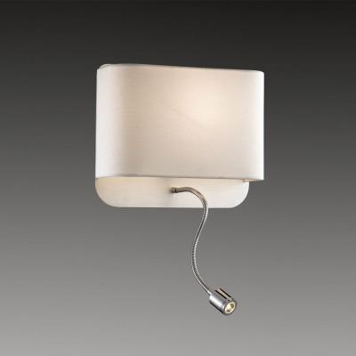 Светильник Odeon light 2588/2WХай-тек<br><br><br>S освещ. до, м2: 4<br>Тип цоколя: E27<br>Цвет арматуры: серебристый<br>Количество ламп: 1<br>Ширина, мм: 280<br>Высота, мм: 240<br>Оттенок (цвет): белый<br>MAX мощность ламп, Вт: 60