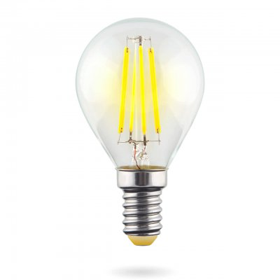 Лампочка светодиодная VG10-G1E14cold6W-F VoltegaЛампы с цоколем e14<br>