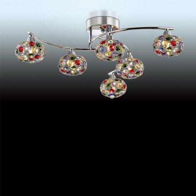 Люстра Odeon light 2598/6CПотолочные<br>Компания «Светодом» предлагает широкий ассортимент люстр от известных производителей. Представленные в нашем каталоге товары выполнены из современных материалов и обладают отличным качеством. Благодаря широкому ассортименту Вы сможете найти у нас люстру под любой интерьер. Мы предлагаем как классические варианты, так и современные модели, отличающиеся лаконичностью и простотой форм.  Стильная люстра Odeon light 2598/6C станет украшением любого дома. Эта модель от известного производителя не оставит равнодушным ценителей красивых и оригинальных предметов интерьера. Люстра Odeon light 2598/6C обеспечит равномерное распределение света по всей комнате. При выборе обратите внимание на характеристики, позволяющие приобрести наиболее подходящую модель. Купить понравившуюся люстру по доступной цене Вы можете в интернет-магазине «Светодом».<br><br>Установка на натяжной потолок: Ограничено<br>S освещ. до, м2: 16<br>Крепление: Планка<br>Тип цоколя: G9<br>Количество ламп: 6<br>MAX мощность ламп, Вт: 40<br>Диаметр, мм мм: 650<br>Высота, мм: 170<br>Цвет арматуры: серебристый