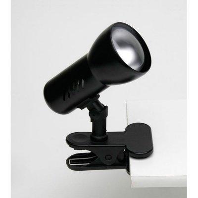 Светильник Brilliant 06301T06 MinorНа прищепке<br><br><br>S освещ. до, м2: 4<br>Тип товара: Светильник поворотный спот<br>Тип лампы: накал-я - энергосбер-я<br>Тип цоколя: E27<br>Количество ламп: 1<br>MAX мощность ламп, Вт: 60<br>Диаметр, мм мм: 90<br>Высота, мм: 190<br>Цвет арматуры: черный