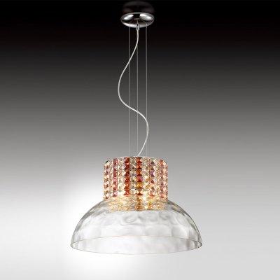 Люстра Odeon light 2605/4Подвесные<br>Подвесная люстра Odeon light 2605/4 - великолепный экземпляр итальянского «светотехнического» мастерства! В ней эффектно сочетаются всемирно известный хрусталь «бургунди», обработанный по традиционным технологиям, и современная конструкция из металла и стекла, выполненная в стиле «хай-тек». «Янтарный» оттенок декоративных элементов создает «настроение» и положительную энергетику в комнате. Чтобы интерьер выглядел «цельным» и гармоничным, добавьте в качестве подсветки несколько настенных бра из этой же серии.<br><br>Установка на натяжной потолок: Да<br>S освещ. до, м2: 11<br>Крепление: Планка<br>Тип цоколя: G9<br>Количество ламп: 4<br>MAX мощность ламп, Вт: 40<br>Диаметр, мм мм: 480<br>Высота, мм: 1550<br>Цвет арматуры: серебристый