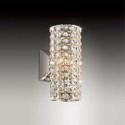 Светильник Odeon light 2607/1WХрустальные<br><br><br>S освещ. до, м2: 3<br>Тип товара: Светильник настенный бра<br>Тип цоколя: G9<br>Количество ламп: 1<br>Ширина, мм: 120<br>MAX мощность ламп, Вт: 40<br>Высота, мм: 260<br>Цвет арматуры: серебристый