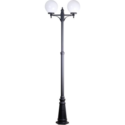 Уличный столб Blitz 2610-62 (2,1м)Большие фонари<br>Обеспечение качественного уличного освещения – важная задача для владельцев коттеджей. Компания «Светодом» предлагает современные светильники, которые порадуют Вас отличным исполнением. В нашем каталоге представлена продукция известных производителей, пользующихся популярностью благодаря высокому качеству выпускаемых товаров. <br> Уличный светильник Blitz 2610-62 не просто обеспечит качественное освещение, но и станет украшением Вашего участка. Модель выполнена из современных материалов и имеет влагозащитный корпус, благодаря которому ей не страшны осадки. <br> Купить уличный светильник Blitz 2610-62, представленный в нашем каталоге, можно с помощью онлайн-формы для заказа. Чтобы задать имеющиеся вопросы, звоните нам по указанным телефонам.<br><br>Тип лампы: накаливания / энергосбережения / LED-светодиодная<br>Тип цоколя: E27<br>Цвет арматуры: литой алюминий<br>Количество ламп: 2<br>Ширина, мм: 250<br>Длина, мм: 630<br>Высота, мм: 2120<br>MAX мощность ламп, Вт: 60
