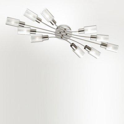 Люстра Odeon light 2613/10CПотолочные<br>Компания «Светодом» предлагает широкий ассортимент люстр от известных производителей. Представленные в нашем каталоге товары выполнены из современных материалов и обладают отличным качеством. Благодаря широкому ассортименту Вы сможете найти у нас люстру под любой интерьер. Мы предлагаем как классические варианты, так и современные модели, отличающиеся лаконичностью и простотой форм.  Стильная люстра Odeon light 2613/10C  станет украшением любого дома. Эта модель от известного производителя не оставит равнодушным ценителей красивых и оригинальных предметов интерьера. Люстра Odeon light 2613/10C  обеспечит равномерное распределение света по всей комнате. При выборе обратите внимание на характеристики, позволяющие приобрести наиболее подходящую модель. Купить понравившуюся люстру по доступной цене Вы можете в интернет-магазине «Светодом».<br><br>Установка на натяжной потолок: Ограничено<br>S освещ. до, м2: 27<br>Крепление: Планка<br>Тип цоколя: E14<br>Количество ламп: 10<br>Ширина, мм: 350<br>MAX мощность ламп, Вт: 40<br>Длина, мм: 870<br>Высота, мм: 80<br>Оттенок (цвет): белый<br>Цвет арматуры: серый
