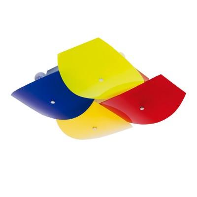 Люстра De markt 262010108 РадугаДекоративные<br>Описание модели 262010108: Люстра «Радуга» — отличный способ привнести сочные краски в интерьер. Хромированное металлическое крепление удерживает слегка выпуклые разноцветные плафоны из акрила, которые заставляют свет играть по-новому. Яркий дизайн светильников с легкостью впишется в интерьер детской комнаты или любого другого помещения, будь то кухня или спальня. Люстра выглядит оптимистично и жизнерадостно. Рекомендуемая площадь освещения 24 кв.м.<br><br>S освещ. до, м2: 24<br>Крепление: Планка<br>Тип лампы: накаливания / энергосбережения / LED-светодиодная<br>Тип цоколя: E27<br>Количество ламп: 8<br>Ширина, мм: 540<br>MAX мощность ламп, Вт: 60<br>Длина, мм: 540<br>Высота, мм: 150<br>Цвет арматуры: серебристый
