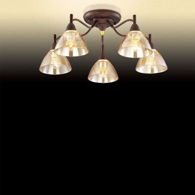 Люстра Odeon light 2625/5CПотолочные<br>Компания «Светодом» предлагает широкий ассортимент люстр от известных производителей. Представленные в нашем каталоге товары выполнены из современных материалов и обладают отличным качеством. Благодаря широкому ассортименту Вы сможете найти у нас люстру под любой интерьер. Мы предлагаем как классические варианты, так и современные модели, отличающиеся лаконичностью и простотой форм.  Стильная люстра Odeon light 2625/5C  станет украшением любого дома. Эта модель от известного производителя не оставит равнодушным ценителей красивых и оригинальных предметов интерьера. Люстра Odeon light 2625/5C  обеспечит равномерное распределение света по всей комнате. При выборе обратите внимание на характеристики, позволяющие приобрести наиболее подходящую модель. Купить понравившуюся люстру по доступной цене Вы можете в интернет-магазине «Светодом».<br><br>Установка на натяжной потолок: Ограничено<br>S освещ. до, м2: 14<br>Крепление: Планка<br>Тип цоколя: E14<br>Количество ламп: 5<br>MAX мощность ламп, Вт: 40<br>Диаметр, мм мм: 540<br>Высота, мм: 220<br>Оттенок (цвет): бежевый<br>Цвет арматуры: коричневый