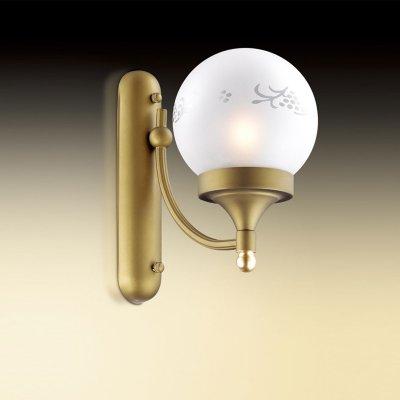 Светильник Odeon light 2626/1WРустика<br><br><br>S освещ. до, м2: 3<br>Тип цоколя: E14<br>Количество ламп: 1<br>Ширина, мм: 145<br>MAX мощность ламп, Вт: 40<br>Высота, мм: 250<br>Оттенок (цвет): белый<br>Цвет арматуры: коричневый