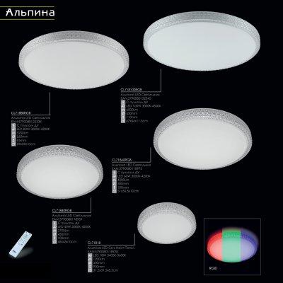 Купить Светильник настенно-потолочный Citilux CL71818 Альпина, Дания