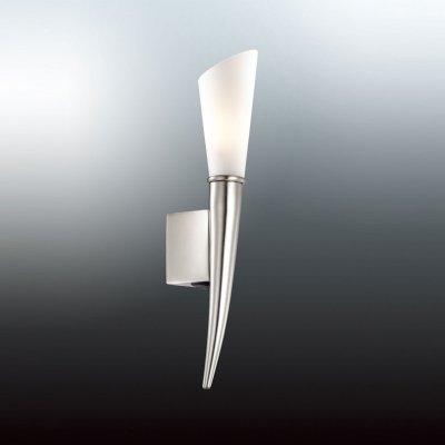 Светильник Odeon light 2654/1WХай-тек<br><br><br>S освещ. до, м2: 3<br>Тип цоколя: G9<br>Количество ламп: 1<br>Ширина, мм: 58<br>MAX мощность ламп, Вт: 40<br>Высота, мм: 333<br>Оттенок (цвет): белый<br>Цвет арматуры: серый
