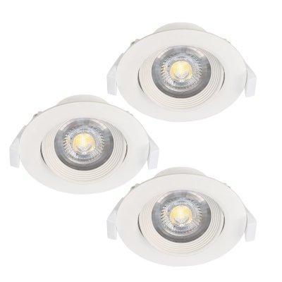 Светильник Eglo 32883металлические встраиваемые светильники<br>