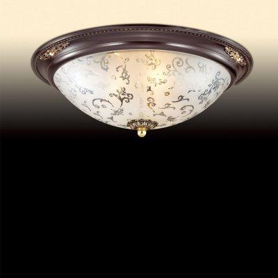 Люстра потолочная Odeon light 2671/3CПотолочные<br>Компания «Светодом» предлагает широкий ассортимент люстр от известных производителей. Представленные в нашем каталоге товары выполнены из современных материалов и обладают отличным качеством. Благодаря широкому ассортименту Вы сможете найти у нас люстру под любой интерьер. Мы предлагаем как классические варианты, так и современные модели, отличающиеся лаконичностью и простотой форм.  Стильная люстра Odeon light 2671/3C  станет украшением любого дома. Эта модель от известного производителя не оставит равнодушным ценителей красивых и оригинальных предметов интерьера. Люстра Odeon light 2671/3C  обеспечит равномерное распределение света по всей комнате. При выборе обратите внимание на характеристики, позволяющие приобрести наиболее подходящую модель. Купить понравившуюся люстру по доступной цене Вы можете в интернет-магазине «Светодом».<br><br>Установка на натяжной потолок: Ограничено<br>S освещ. до, м2: 12<br>Крепление: Планка<br>Тип цоколя: E27<br>Количество ламп: 3<br>MAX мощность ламп, Вт: 60<br>Диаметр, мм мм: 430<br>Высота, мм: 140<br>Оттенок (цвет): белый<br>Цвет арматуры: коричневый