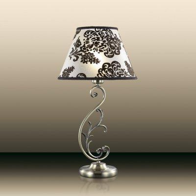 Настольная лампа odeon light 2687/1T PARIСовременные<br>Настольная лампа – это не просто источник дополнительного освещения, но и оригинальный элемент декора. Его можно установить в спальне, гостиной, кабинете и других комнатах. Интернет-магазин «Светодом» предлагает настольные лампы разных стилей по доступным ценам. Благодаря большому ассортименту Вы обязательно найдете в нашем каталоге именно ту модель, которую искали.   Настольная лампа Odeon light 2687/1T  – прекрасный вариант для завершения интерьера. Ее можно включить одновременно с люстрой для более яркого освещения или без нее для создания уютной атмосферы, настраивающей на отдых.   Купить настольную лампу Odeon light 2687/1T  Вы можете с помощью виртуальной «Корзины» или по контактным номерам, указанным на сайте.<br><br>S освещ. до, м2: 4<br>Тип лампы: накаливания / энергосбережения / LED-светодиодная<br>Тип цоколя: E14<br>Количество ламп: 1<br>MAX мощность ламп, Вт: 60<br>Диаметр, мм мм: 280<br>Высота, мм: 530<br>Цвет арматуры: бронзовый