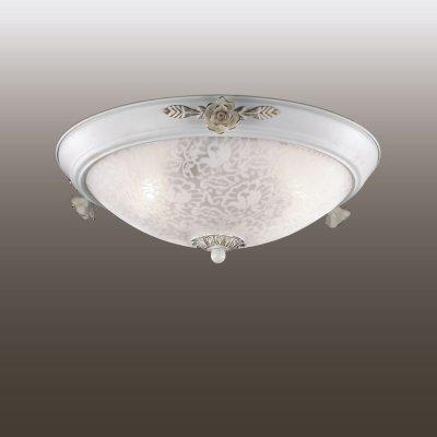 Настенно-потолочный светильник odeon light 2692/3C BONEПотолочные<br><br><br>Установка на натяжной потолок: Ограничено<br>S освещ. до, м2: 8<br>Крепление: Планка<br>Тип товара: Настенно-потолочный светильник<br>Скидка, %: 20<br>Тип лампы: накаливания / энергосбережения / LED-светодиодная<br>Тип цоколя: E14<br>Количество ламп: 3<br>MAX мощность ламп, Вт: 40<br>Диаметр, мм мм: 410<br>Высота, мм: 160<br>Цвет арматуры: белый