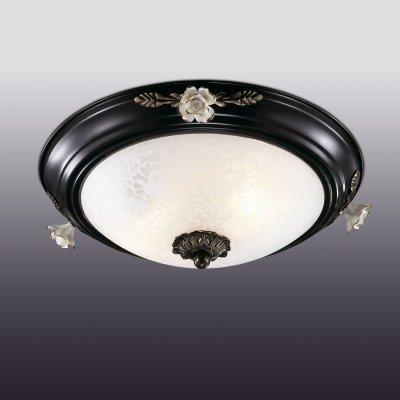Настенно-потолочный светильник odeon light 2693/2C BONEПотолочные<br><br><br>Установка на натяжной потолок: Ограничено<br>S освещ. до, м2: 5<br>Крепление: Планка<br>Тип товара: Настенно-потолочный светильник<br>Скидка, %: 41<br>Тип лампы: накаливания / энергосбережения / LED-светодиодная<br>Тип цоколя: E14<br>Количество ламп: 2<br>MAX мощность ламп, Вт: 40<br>Диаметр, мм мм: 360<br>Высота, мм: 150<br>Цвет арматуры: черный