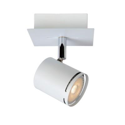 Светильник Lucide 26994/05/31Одиночные<br>Светильники-споты – это оригинальные изделия с современным дизайном. Они позволяют не ограничивать свою фантазию при выборе освещения для интерьера. Такие модели обеспечивают достаточно качественный свет. Благодаря компактным размерам Вы можете использовать несколько спотов для одного помещения.  Интернет-магазин «Светодом» предлагает необычный светильник-спот Lucide 26994/05/31 по привлекательной цене. Эта модель станет отличным дополнением к люстре, выполненной в том же стиле. Перед оформлением заказа изучите характеристики изделия.  Купить светильник-спот Lucide 26994/05/31 в нашем онлайн-магазине Вы можете либо с помощью формы на сайте, либо по указанным выше телефонам. Обратите внимание, что у нас склады не только в Москве и Екатеринбурге, но и других городах России.<br><br>S освещ. до, м2: 2<br>Цветовая t, К: 3000<br>Тип лампы: LED - светодиодная<br>Тип цоколя: GU10<br>Цвет арматуры: белый<br>Количество ламп: 1<br>Ширина, мм: 100<br>Длина, мм: 100<br>Высота, мм: 120<br>MAX мощность ламп, Вт: 4.5