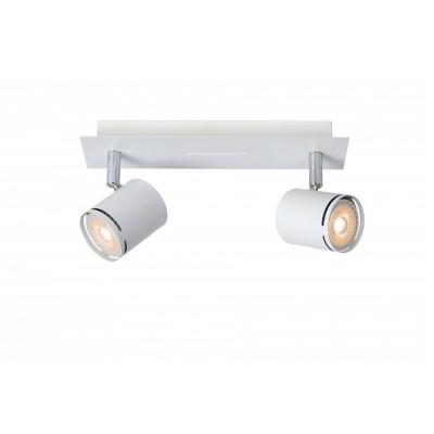Светильник Lucide 26994/10/31двойные светильники споты<br>Светильники-споты – это оригинальные изделия с современным дизайном. Они позволяют не ограничивать свою фантазию при выборе освещения для интерьера. Такие модели обеспечивают достаточно качественный свет. Благодаря компактным размерам Вы можете использовать несколько спотов для одного помещения.  Интернет-магазин «Светодом» предлагает необычный светильник-спот Lucide 26994/10/31 по привлекательной цене. Эта модель станет отличным дополнением к люстре, выполненной в том же стиле. Перед оформлением заказа изучите характеристики изделия.  Купить светильник-спот Lucide 26994/10/31 в нашем онлайн-магазине Вы можете либо с помощью формы на сайте, либо по указанным выше телефонам. Обратите внимание, что у нас склады не только в Москве и Екатеринбурге, но и других городах России.<br><br>S освещ. до, м2: 4<br>Тип лампы: LED - светодиодная<br>Тип цоколя: GU10<br>Цвет арматуры: белый<br>Количество ламп: 2<br>Ширина, мм: 75<br>Длина, мм: 260<br>Высота, мм: 120<br>MAX мощность ламп, Вт: 4.5