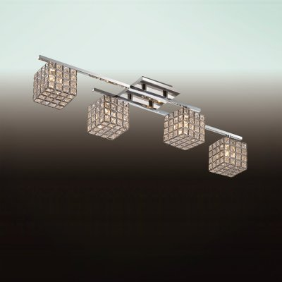 Люстра odeon light 2709/4C ULFAсовременные потолочные люстры модерн<br>Компания «Светодом» предлагает широкий ассортимент люстр от известных производителей. Представленные в нашем каталоге товары выполнены из современных материалов и обладают отличным качеством. Благодаря широкому ассортименту Вы сможете найти у нас люстру под любой интерьер. Мы предлагаем как классические варианты, так и современные модели, отличающиеся лаконичностью и простотой форм.  Стильная люстра Odeon light 2709/4C  станет украшением любого дома. Эта модель от известного производителя не оставит равнодушным ценителей красивых и оригинальных предметов интерьера. Люстра Odeon light 2709/4C  обеспечит равномерное распределение света по всей комнате. При выборе обратите внимание на характеристики, позволяющие приобрести наиболее подходящую модель. Купить понравившуюся люстру по доступной цене Вы можете в интернет-магазине «Светодом».<br><br>Установка на натяжной потолок: Ограничено<br>S освещ. до, м2: 10<br>Крепление: Планка<br>Тип лампы: галогенная / LED-светодиодная<br>Тип цоколя: G9<br>Цвет арматуры: серебристый<br>Количество ламп: 4<br>Ширина, мм: 160<br>Длина, мм: 720<br>Высота, мм: 175<br>MAX мощность ламп, Вт: 40