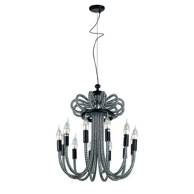 Светильник Divinare 2718/04 LM-12Подвесные<br><br><br>Установка на натяжной потолок: Да<br>S освещ. до, м2: 24<br>Тип цоколя: E14<br>Количество ламп: 12<br>MAX мощность ламп, Вт: 40W