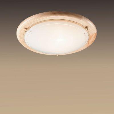Светильник Сонекс 173 сосна RigaКруглые<br>Настенно потолочный светильник Сонекс (Sonex) 173 подходит как для установки в вертикальном положении - на стены, так и для установки в горизонтальном - на потолок. Для установки настенно потолочных светильников на натяжной потолок необходимо использовать светодиодные лампы LED, которые экономнее ламп Ильича (накаливания) в 10 раз, выделяют мало тепла и не дадут расплавиться Вашему потолку.<br><br>S освещ. до, м2: 6<br>Тип лампы: накаливания / энергосбережения / LED-светодиодная<br>Тип цоколя: E27<br>Количество ламп: 1<br>MAX мощность ламп, Вт: 100<br>Диаметр, мм мм: 310<br>Цвет арматуры: деревянный