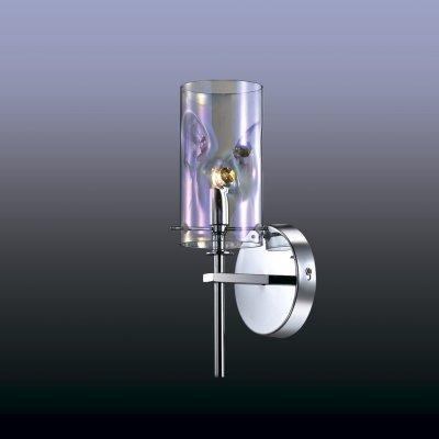 Настенный светильник odeon light 2730/1W ORISAСнято с производства<br><br><br>S освещ. до, м2: 2<br>Тип лампы: галогенная / LED-светодиодная<br>Тип цоколя: G9<br>Количество ламп: 1<br>Ширина, мм: 120<br>MAX мощность ламп, Вт: 40<br>Расстояние от стены, мм: 200<br>Высота, мм: 300<br>Цвет арматуры: серебристый