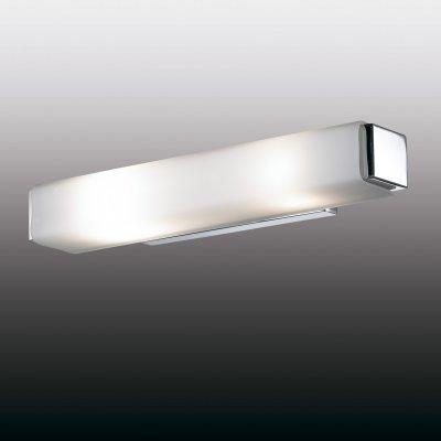 Настенный светильник odeon light 2731/2W KIMAСовременные<br><br><br>S освещ. до, м2: 5<br>Тип лампы: накаливания / энергосбережения / LED-светодиодная<br>Тип цоколя: E14<br>Количество ламп: 2<br>Ширина, мм: 370<br>MAX мощность ламп, Вт: 40<br>Расстояние от стены, мм: 85<br>Высота, мм: 60<br>Цвет арматуры: серебристый