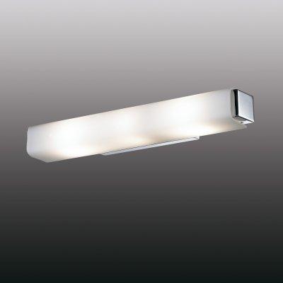Настенный светильник odeon light 2731/3W KIMAСовременные<br><br><br>S освещ. до, м2: 8<br>Тип лампы: накаливания / энергосбережения / LED-светодиодная<br>Тип цоколя: E14<br>Количество ламп: 3<br>Ширина, мм: 440<br>MAX мощность ламп, Вт: 40<br>Расстояние от стены, мм: 85<br>Высота, мм: 60<br>Цвет арматуры: серебристый