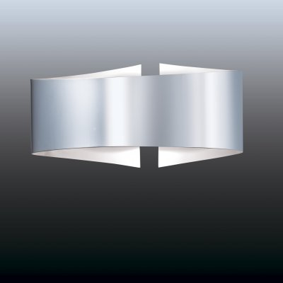 Настенный светильник odeon light 2734/1W ARMAХай-тек<br><br><br>S освещ. до, м2: 6<br>Тип лампы: галогенная / LED-светодиодная<br>Тип цоколя: R7S<br>Количество ламп: 1<br>Ширина, мм: 235<br>MAX мощность ламп, Вт: 100<br>Расстояние от стены, мм: 100<br>Высота, мм: 107<br>Цвет арматуры: серый