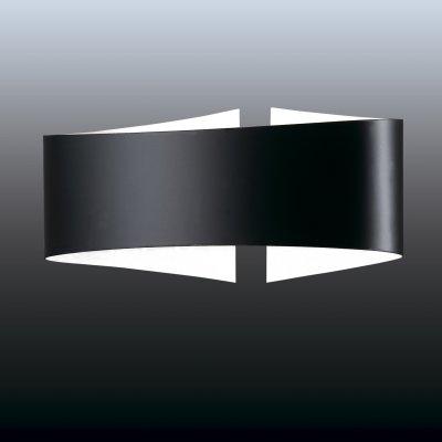 Настенный светильник odeon light 2735/1W ARMAХай-тек<br><br><br>S освещ. до, м2: 6<br>Тип лампы: галогенная / LED-светодиодная<br>Тип цоколя: R7S<br>Количество ламп: 1<br>Ширина, мм: 235<br>MAX мощность ламп, Вт: 100<br>Расстояние от стены, мм: 100<br>Высота, мм: 107<br>Цвет арматуры: черный