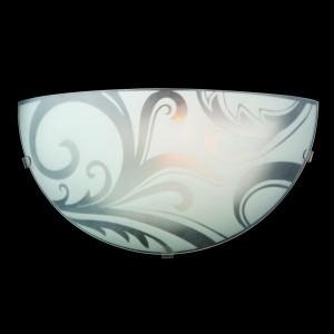 Светильник бра Евросвет 2736/1 хромНакладные<br><br><br>S освещ. до, м2: 2<br>Тип лампы: накаливания / энергосбережения / LED-светодиодная<br>Тип цоколя: E27<br>Количество ламп: 1<br>MAX мощность ламп, Вт: 40<br>Длина, мм: 250<br>Высота, мм: 130<br>Цвет арматуры: серебристый
