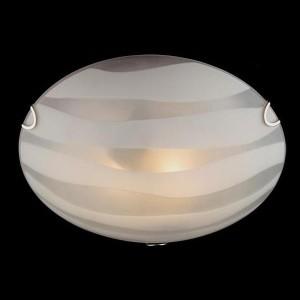 Светильник Евросвет 2737/2 хромКруглые<br><br><br>S освещ. до, м2: 8<br>Тип товара: Светильник настенно-потолочный<br>Тип лампы: накаливания / энергосбережения / LED-светодиодная<br>Тип цоколя: E27<br>Количество ламп: 2<br>MAX мощность ламп, Вт: 60<br>Диаметр, мм мм: 300<br>Цвет арматуры: серебристый
