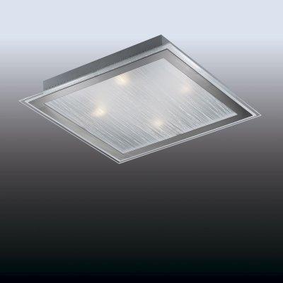 Настенно-потолочный светильник odeon light 2737/4W ULENКвадратные<br>Настенно-потолочные светильники – это универсальные осветительные варианты, которые подходят для вертикального и горизонтального монтажа. В интернет-магазине «Светодом» Вы можете приобрести подобные модели по выгодной стоимости. В нашем каталоге представлены как бюджетные варианты, так и эксклюзивные изделия от производителей, которые уже давно заслужили доверие дизайнеров и простых покупателей.  Настенно-потолочный светильник Odeon light 2737/4W станет прекрасным дополнением к основному освещению. Благодаря качественному исполнению и применению современных технологий при производстве эта модель будет радовать Вас своим привлекательным внешним видом долгое время. Приобрести настенно-потолочный светильник Odeon light 2737/4W можно, находясь в любой точке России.<br><br>S освещ. до, м2: 16<br>Тип лампы: накаливания / энергосбережения / LED-светодиодная<br>Тип цоколя: E27<br>Количество ламп: 4<br>Ширина, мм: 435<br>MAX мощность ламп, Вт: 60<br>Длина, мм: 435<br>Высота, мм: 75<br>Цвет арматуры: серый