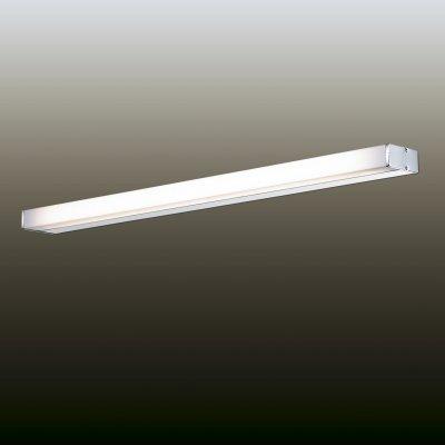Настенный светильник odeon light 2742/1W GILС лампой T5<br><br><br>S освещ. до, м2: до 1<br>Тип лампы: люминесцентная T5<br>Тип цоколя: G5<br>Цвет арматуры: белый<br>Количество ламп: 1<br>Ширина, мм: 880<br>Расстояние от стены, мм: 80<br>Высота, мм: 40<br>MAX мощность ламп, Вт: 21