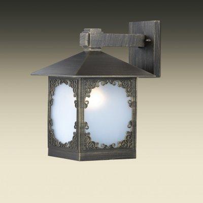 Настенный светильник odeon light 2747/1W VISMAРустика<br><br><br>S освещ. до, м2: 4<br>Тип лампы: накаливания / энергосбережения / LED-светодиодная<br>Тип цоколя: E27<br>Количество ламп: 1<br>Ширина, мм: 226<br>MAX мощность ламп, Вт: 60<br>Расстояние от стены, мм: 280<br>Высота, мм: 340<br>Цвет арматуры: бронзовый