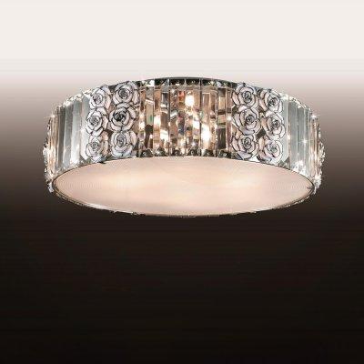 Люстра odeon light 2757/6C FLOПотолочные<br><br><br>Установка на натяжной потолок: Ограничено<br>S освещ. до, м2: 24<br>Крепление: Планка<br>Тип товара: Люстра<br>Тип лампы: галогенная / LED-светодиодная<br>Тип цоколя: G9<br>Количество ламп: 6<br>MAX мощность ламп, Вт: 60<br>Диаметр, мм мм: 460<br>Высота, мм: 150<br>Цвет арматуры: серебристый