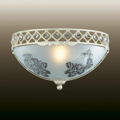 Настенный светильник odeon light 2777/1W ASPENAКлассические<br><br><br>S освещ. до, м2: 4<br>Тип лампы: накаливания / энергосбережения / LED-светодиодная<br>Тип цоколя: E27<br>Количество ламп: 1<br>Ширина, мм: 335<br>MAX мощность ламп, Вт: 60<br>Расстояние от стены, мм: 165<br>Высота, мм: 185<br>Цвет арматуры: белый с золотистой патиной