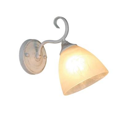 Бра Olsa 278/1A-Whitepatinaклассические бра<br><br><br>Крепление: Крепежная планка<br>Тип лампы: Накаливания / энергосбережения / светодиодная<br>Тип цоколя: E27<br>Цвет арматуры: Белый патинированный<br>Количество ламп: 1<br>Ширина, мм: 135<br>Длина, мм: 255<br>Высота, мм: 225<br>Поверхность арматуры: матовая<br>Оттенок (цвет): Белый<br>MAX мощность ламп, Вт: 60