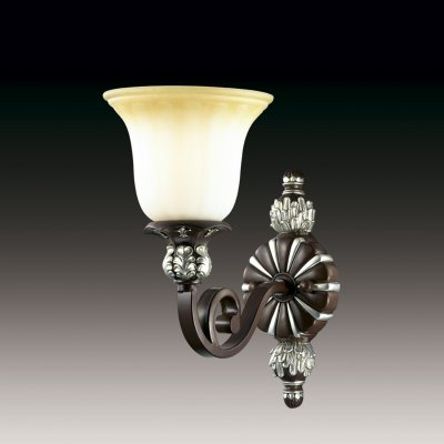 Настенный светильник odeon light 2784/1W RIDERAРустика<br><br><br>S освещ. до, м2: 2<br>Тип лампы: накаливания / энергосбережения / LED-светодиодная<br>Тип цоколя: E27<br>Количество ламп: 1<br>Ширина, мм: 190<br>MAX мощность ламп, Вт: 40<br>Расстояние от стены, мм: 290<br>Высота, мм: 350<br>Цвет арматуры: коричневый