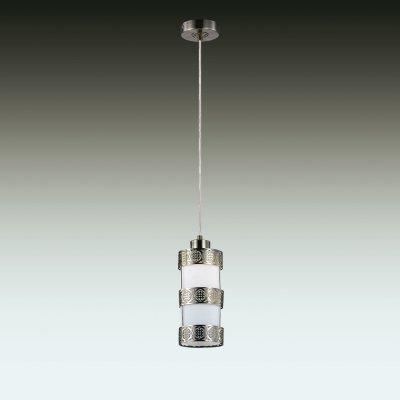 Подвесной светильник odeon light 2788/1 LUTELAОдиночные<br><br><br>S освещ. до, м2: 4<br>Тип товара: Светильник подвесной<br>Тип лампы: накаливания / энергосбережения / LED-светодиодная<br>Тип цоколя: E27<br>Количество ламп: 1<br>MAX мощность ламп, Вт: 60<br>Диаметр, мм мм: 100<br>Высота, мм: 500 - 1500<br>Цвет арматуры: бронзовый