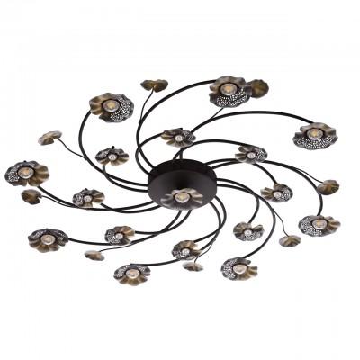 280011517 Mw light СветильникПотолочные<br><br><br>Установка на натяжной потолок: Да<br>S освещ. до, м2: 28<br>Тип лампы: LED<br>Тип цоколя: LED<br>Диаметр, мм мм: 1000<br>Высота, мм: 80