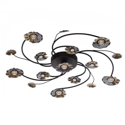 280011611 Mw light СветильникПотолочные<br><br><br>Установка на натяжной потолок: Да<br>S освещ. до, м2: 20<br>Тип лампы: LED<br>Тип цоколя: LED<br>Диаметр, мм мм: 820<br>Высота, мм: 90
