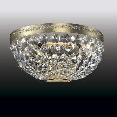 Настенный светильник odeon light 2810/2W FIORAХрустальные<br><br><br>S освещ. до, м2: 8<br>Тип лампы: накаливания / энергосбережения / LED-светодиодная<br>Тип цоколя: E14<br>Количество ламп: 2<br>Ширина, мм: 260<br>MAX мощность ламп, Вт: 60<br>Расстояние от стены, мм: 120<br>Высота, мм: 120<br>Цвет арматуры: золотой