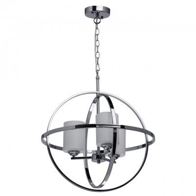 285010303 Mw light СветильникПодвесные<br><br><br>Установка на натяжной потолок: Да<br>S освещ. до, м2: 6<br>Тип лампы: Накаливания / энергосбережения / светодиодная<br>Тип цоколя: E14<br>Количество ламп: 3<br>Диаметр, мм мм: 500<br>Высота, мм: 600 - 850<br>MAX мощность ламп, Вт: 40