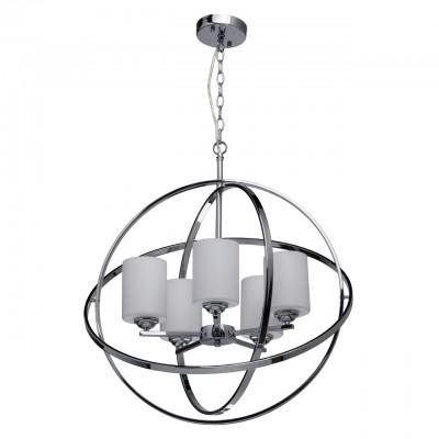 285010405 Mw light СветильникПодвесные<br><br><br>Установка на натяжной потолок: Да<br>S освещ. до, м2: 10<br>Тип лампы: Накаливания / энергосбережения / светодиодная<br>Тип цоколя: E14<br>Количество ламп: 5<br>Диаметр, мм мм: 600<br>Высота, мм: 730 - 980<br>MAX мощность ламп, Вт: 40