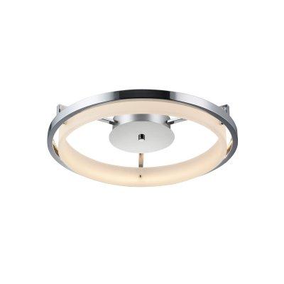 Светильник потолочный Ringa 291/50PF-LEDChromeОжидается<br><br><br>Крепление: Крепежная планка<br>Тип цоколя: LED<br>Цвет арматуры: Хром<br>Диаметр, мм мм: 510<br>Высота, мм: 95<br>Оттенок (цвет): Белый<br>MAX мощность ламп, Вт: 23,1