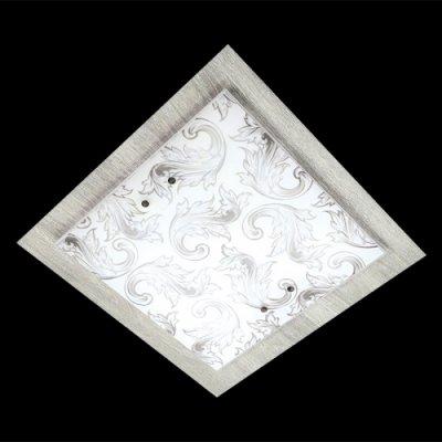 Светильник Eurosvet 2961/3 хром/серыйКвадратные<br>Настенно-потолочные светильники – это универсальные осветительные варианты, которые подходят для вертикального и горизонтального монтажа. В интернет-магазине «Светодом» Вы можете приобрести подобные модели по выгодной стоимости. В нашем каталоге представлены как бюджетные варианты, так и эксклюзивные изделия от производителей, которые уже давно заслужили доверие дизайнеров и простых покупателей.  Настенно-потолочный светильник Евросвет 2961/3 станет прекрасным дополнением к основному освещению. Благодаря качественному исполнению и применению современных технологий при производстве эта модель будет радовать Вас своим привлекательным внешним видом долгое время. Приобрести настенно-потолочный светильник Евросвет 2961/3 можно, находясь в любой точке России.<br><br>S освещ. до, м2: 12<br>Тип лампы: накаливания / энергосбережения / LED-светодиодная<br>Тип цоколя: E27<br>Количество ламп: 3<br>Ширина, мм: 400<br>MAX мощность ламп, Вт: 60<br>Длина, мм: 400<br>Высота, мм: 110<br>Цвет арматуры: серебристый