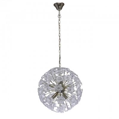 Mw light 298012308 СветильникПотолочные<br><br><br>Установка на натяжной потолок: Да<br>S освещ. до, м2: 16<br>Тип лампы: Накаливания / энергосбережения / светодиодная<br>Тип цоколя: E14<br>Количество ламп: 8<br>MAX мощность ламп, Вт: 40<br>Диаметр, мм мм: 480<br>Высота, мм: 600 - 1200