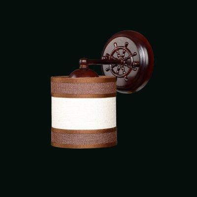 Бра Еврокаркасы 3-3324-1-BR E14 МаксисветОжидается<br>В коллекции Еврокаркасы есть светильники в так называемом польском стиле. Каркас и плафоны сделаны из натуральных материалов и имеют нейтральные природные цвета.<br>Стилевые решения интерьера: морской стиль, контемпорари, фьюжн, экостиль.<br>Тип помещения: холл, детская, спальная.<br><br>S освещ. до, м2: 3<br>Тип цоколя: E14<br>Цвет арматуры: Коричневый<br>Количество ламп: 1<br>Ширина, мм: 120<br>Высота полная, мм: 210<br>Длина, мм: 110<br>Оттенок (цвет): Разноцветный