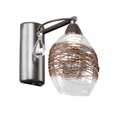Бра Еврокаркасы 3-3430-1-BR E14 МаксисветОжидается<br>Cерия светильников в модном лаконичном стиле: простой каркас, плафоны из прозрачного стекла с нитью натурального джута. Светильники отлично подойдут для небольших помещений, оформленных в стиле эко, а также интерьеров с мебелью цвета венге. Контрастное сочетание прозрачных плафонов и темного каркаса, дополненного хрусталем, создают яркий эффект.<br>Стилевые решения интерьера: экостиль, контемпорари.<br>Тип помещения: веранда, столовая, кухня, прихожая, гостиная, спальня.<br><br>S освещ. до, м2: 3<br>Тип цоколя: E14<br>Цвет арматуры: Коричневый<br>Количество ламп: 1<br>Ширина, мм: 220<br>Высота полная, мм: 200<br>Длина, мм: 130<br>Оттенок (цвет): Прозрачный, Коричневый